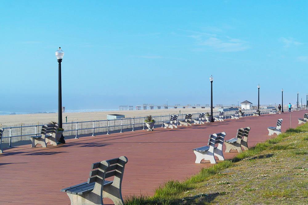 ocean grove boardwalk photo
