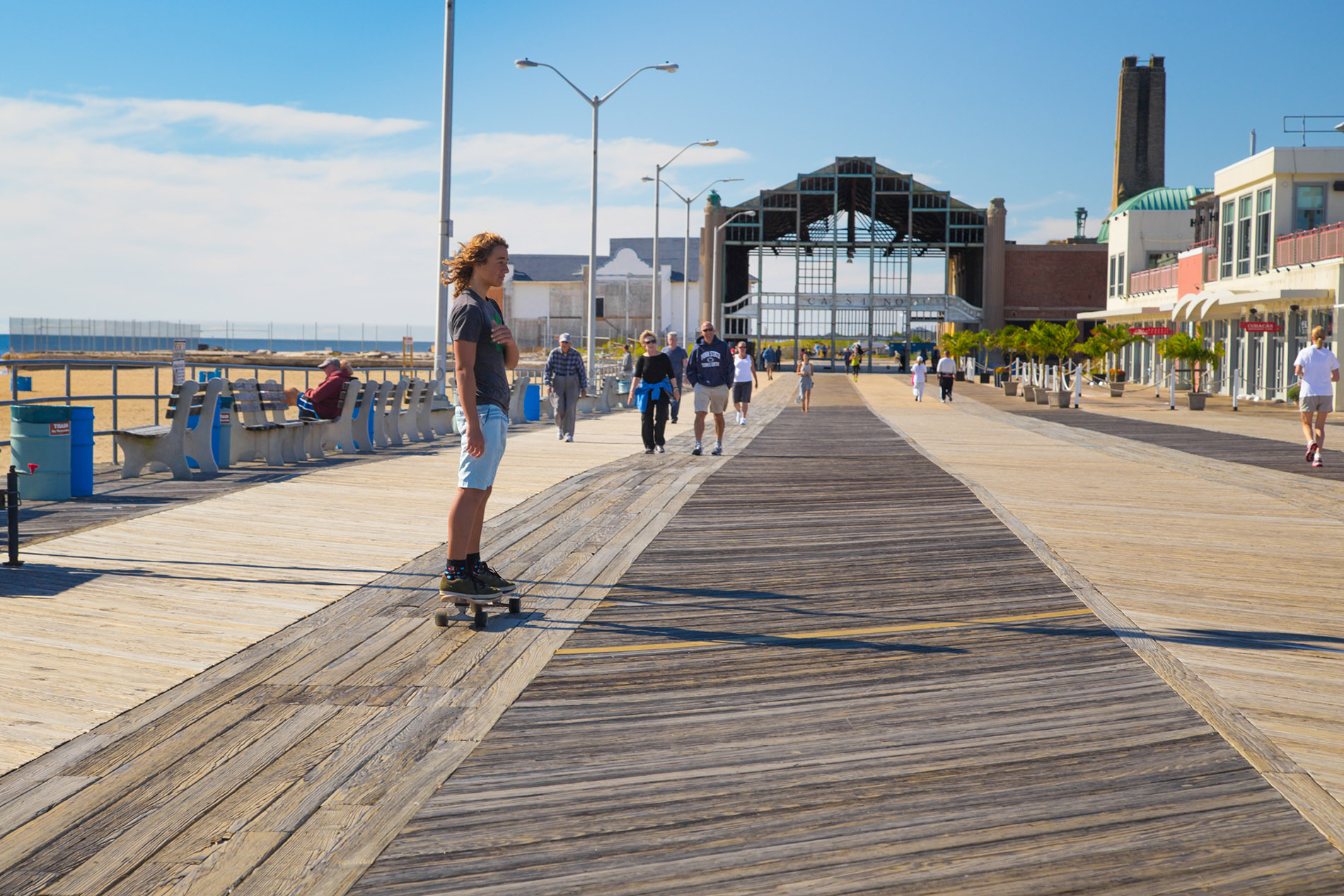 Asbury Boardwalk NJ